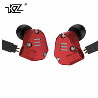 KZ ZS6 2DD 2BA Hybrid Earphone In Ear HIFI Stereo Sport Headset Suitable Bluetooth ZS5 Pro