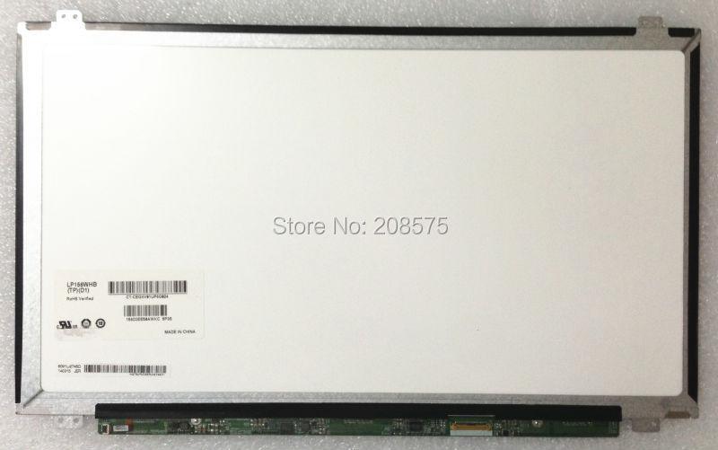 """Prix pour Livraison gratuite! Brand new 15.6 """"Écran LCD slim LP156WHB FORMULAIRE TPD1/TPA1/TPC1/TPS1 LTN156AT31/AT37 ordinateur portable lcd écran"""