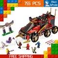 10325 Бела Ниндзя DB X Мастера Кружитцу Ninja 755 Шт. Строительный Блок Игрушки 10325 Совместимость С Lego