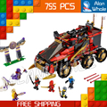 10325 Bela Ninja DB X Masters of Spinjitzu Ninja 755Pcs Building Block Toys 10325 Compatible With Lego