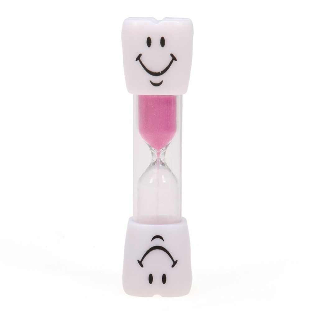 Новые милые мини 1 минуты Песочные часы со смайлом Песочные часы Таймер кухонный инструмент
