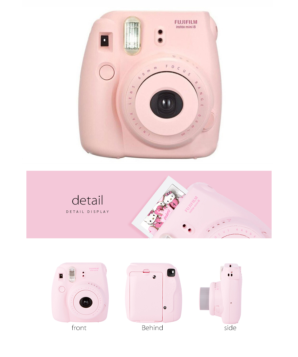 MINI8_07  Fujifilm Fuji Instax Mini eight Prompt Movie Photograph Digicam + Mini eight Bag + Lens + 20 Sheets Movie + 36 Pockets Photograph Case Free Transport HTB1rGPASXXXXXXjaFXXq6xXFXXXE