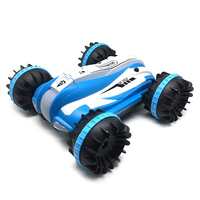 2018 New RC Car 1:12 4WD RC Off Road Amphibious Monster Truck 2.4G Remote Control Toys 12km/H LED Night Light RC Robot Car Gifts