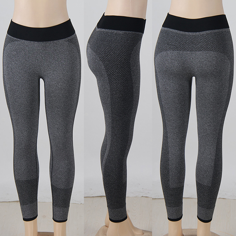5371e2104450ab Yoga Leggings Black Hot Yoga Pants Girls High Waist New Sexy Yoga lulu  Sportwear Tight Yoga Lulu Pant Leggings for Women Jogging-in Yoga Pants  from Sports ...