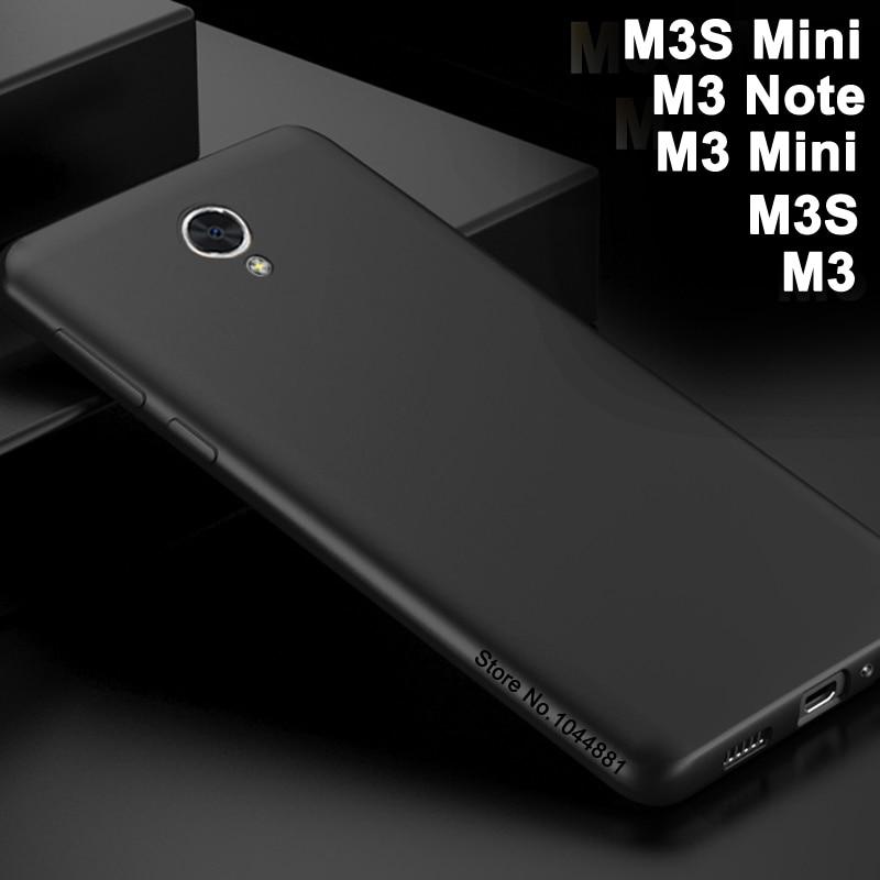 Funda para Meizu m3 mini cubierta de silicona suave para meizy Meizu m3s mini cuerpo entero esmerilado Meizu m3 s mini teléfono m 3 note