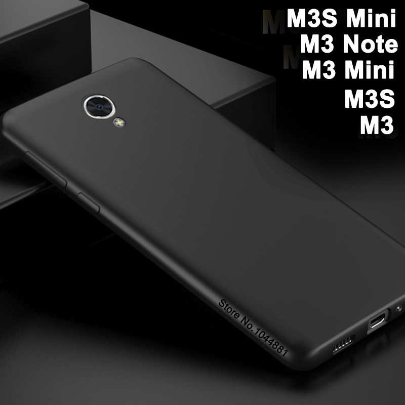 Funda para Meizu m3 mini funda de silicona suave para meizy Meizu m3s mini funda de cuerpo completo mate Meizu m3 mini teléfono m 3 note