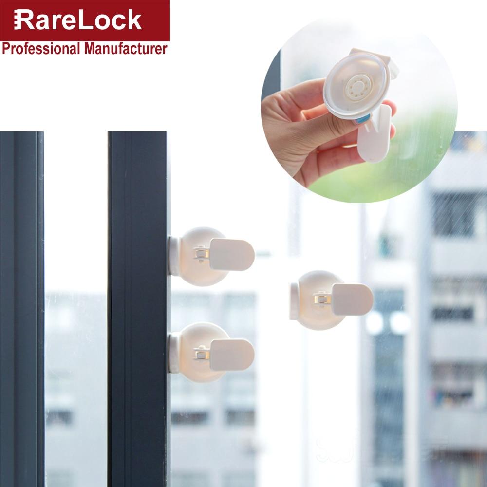 Rarelock Bmms302 Window Lock Children Play Protective Sucker Sliding