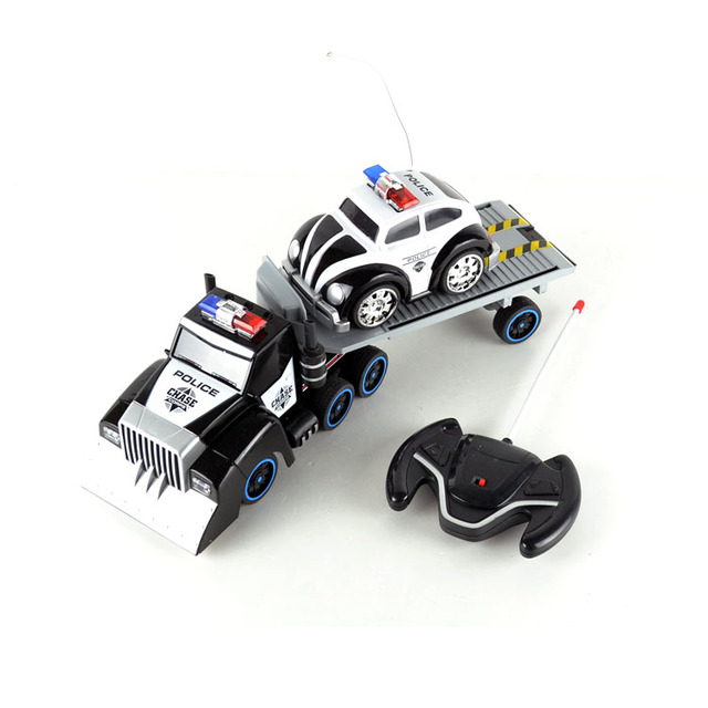 Acoustooptical electric remote control car truck toy car gift model 3 - 4 - 7