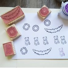 Custom Design Rubber Stamp Scrapbooking Wedding Birthday Christmas Greeting Card Gift Box Photo Album DIY(China)