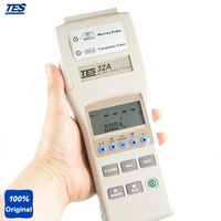 TES 32A Compact Storage Battery, Alkali and Lead acid Battery Battery Capacity Tester