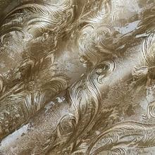 Blue Damascus wallpaper Wall papers home Decor barbershop wa