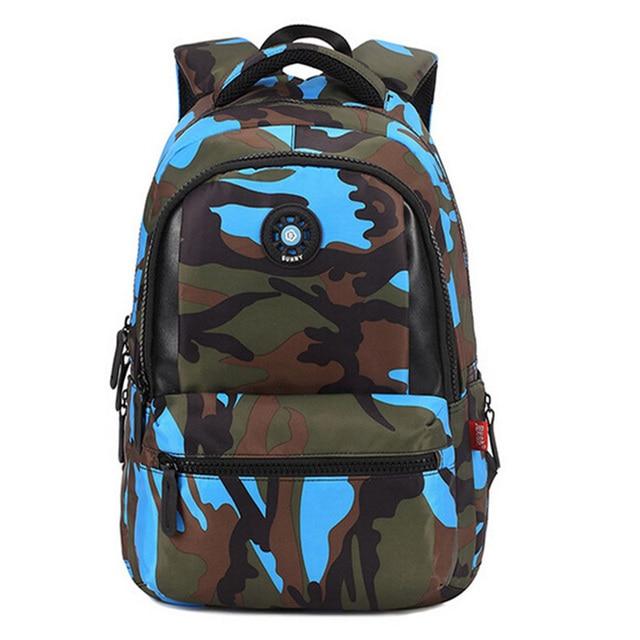 рюкзак Мода камуфляж малыш рюкзак сумка школьные сумки рюкзак путешествия сумки для круто мальчик и девочка