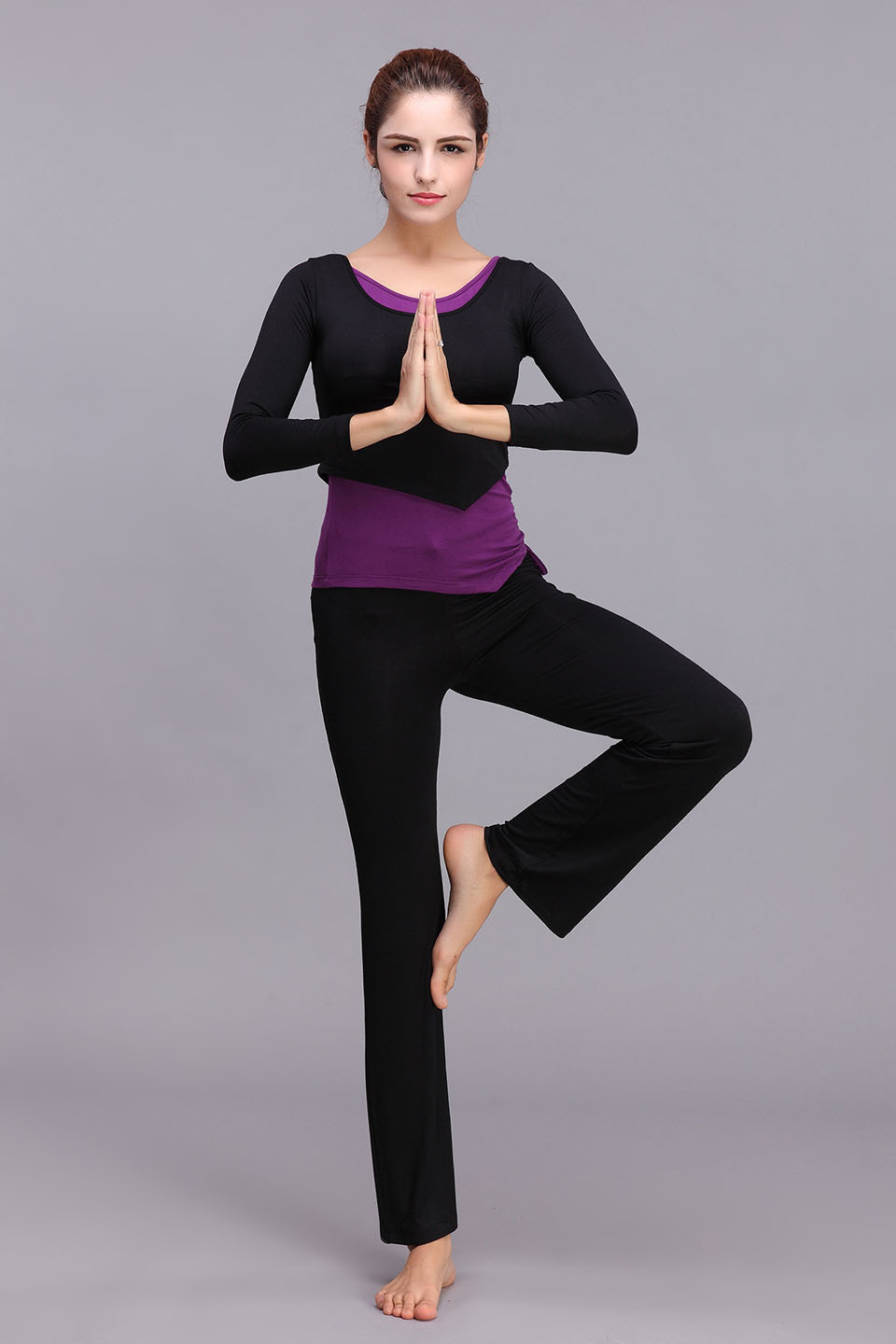3fd0983bd326b fitness Modal women/Yoga Clothes/full sleeves/3 pcs set/pants shirts and  vest/yoga top new fashion Free shipping on Aliexpress.com | Alibaba Group