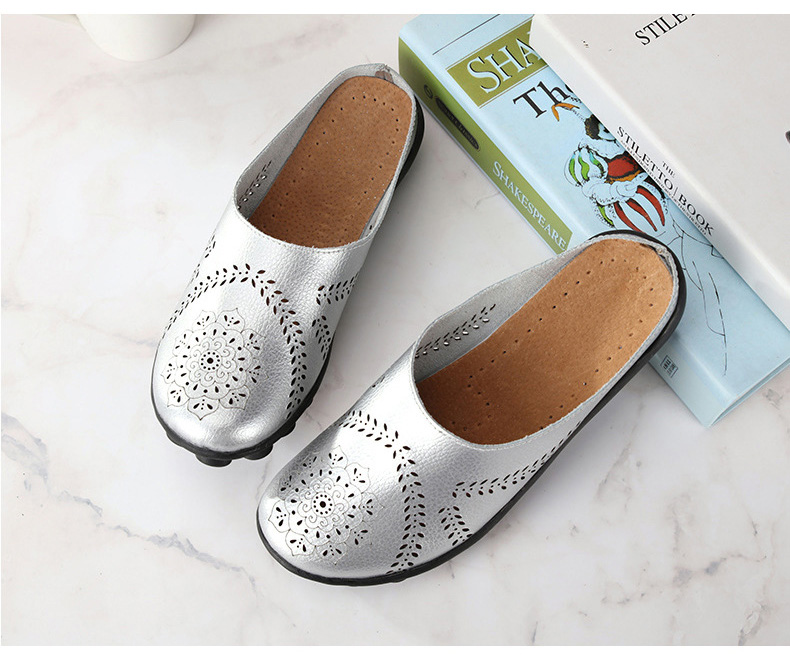 XY 991 Cut Outs Women's Summer Flats Shoes -10