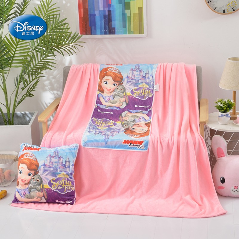 Multi Use Kids Girls Elsa Sofia Summer Blanket Disney Frozen Throw Fascinating Sofia The First Throw Blanket