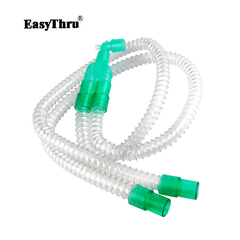 Disposable Breathing Circuit Smoothbore Type To Offer Simple Convenient Efficient Airway For Patient Medical Experimental