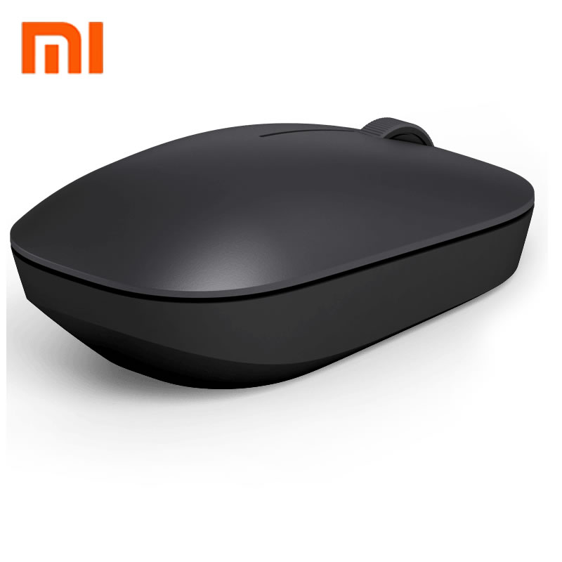 100% Original Xiaomi MI Portable Mouse Remote Wireless Optical RF <font><b>2</b></font>.4GHz 1200DPI Dual Mode Connect Computer Windows 7 / 8 / 10 image