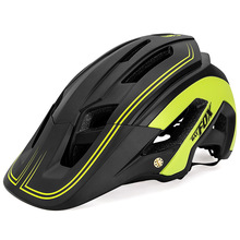BATFOX Cycling Helmet Women Men Bicycle Helmet MTB Bike Mountain Road Cycling Safety Outdoor Sports Lightweight Big Visor Helmet цена