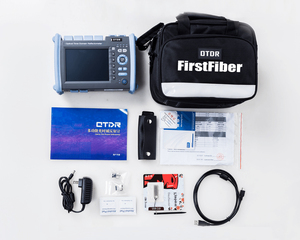 Image 5 - FF 990PRO S1 OTDR 1310/1550nm 35/33dB Reflectometer מובנה VFL OPM OLS מגע מסך, עם SC ST FC LC מחבר