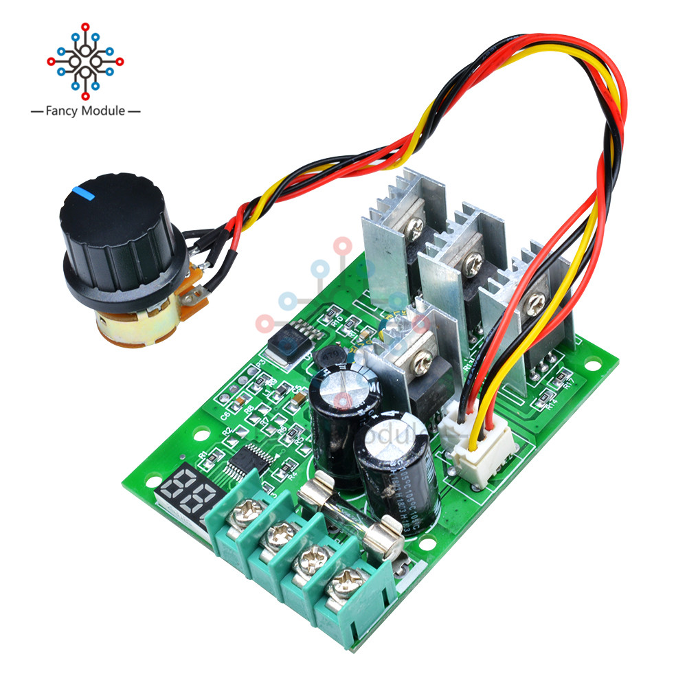 PWM  DC6-60V 30A Motor Speed Controller Module Dimmer Current Display EP