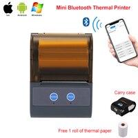 RUGLINE P5803 POS Impressora Bluetooth Móvel Mini Handheld Portátil Impressora de Recibos Térmica Pos Impressoras Bluetooth para android iOS