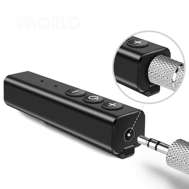 Bluetooth récepteur AUX 3.5mm Jack mains libres Bluetooth voiture musique Audio sans fil émetteur adaptateur pour voiture casque haut-parleur
