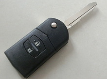2 Кнопка/3 Кнопки Флип Складные Дистанционного ключа Для Mazda Demio M3 M6 M5 М2 С 315 МГц Keyless Entry Fob (без Чипа)