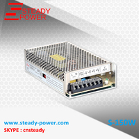 Steady CE Approved 150W 5v Ac Dc Power Converter S 150 5 110v 30a Ac To