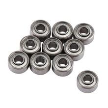 10pcs/Lot 685ZZ Miniature Ball Bearings  Double Shielded Mini Steel Bearing 5x11x5mm s6215 2rs stainless steel shielded miniature ball bearings size 75 130 25mm