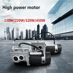24V 320W/450W Power DC Electric Motor For Electric Power Wheelchairs