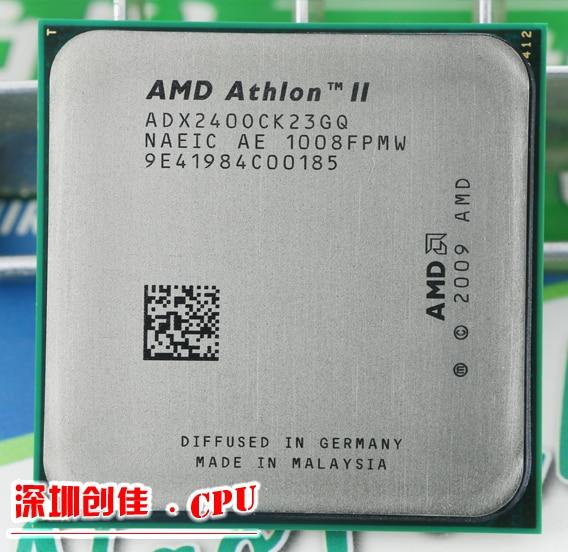 AMD CPU Athlon II X2 240 CPU 2.8GHz Socket AM3 Processor 65W 4000MHZ Pib Dual-Core scrattered pieces amd athlon ii x2 340