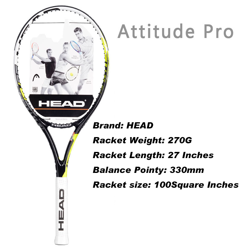 HEAD L3 L4 L5 Tennis Rackets Professional Training Rackets For Men Top Quality Women Tennis Racquets For Advanced With Bags quality broken wind chinese dragon badminton rackets carbon fiber professional offensive racquets single racket q1013cmk