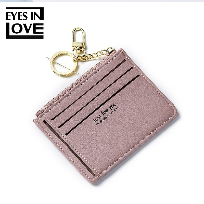 Eyes In Love Card Holders Women Pu Leather Credit Card Holders Fashion Small Key Card Ho ...