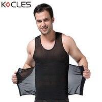 New Men Slimming Vest Belts Body Shaper Waist Cincher Abdomen Belly Control Slim Underwear Reduce Weight