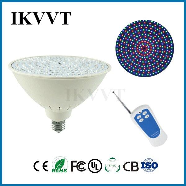 E27 18 w AC12V RGB par56 IP68 LED piscine lumière de haute qualité livraison gratuite 2 ans de garantie