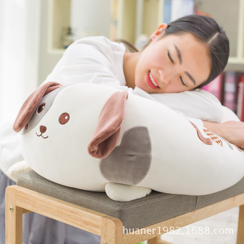 Cute dog Husky pastoral dogs doll soft pillow plush toy cushion pillow birthday gift 45cm cute dog plush toy stuffed cute husky dog toy kids doll kawaii animal gift home decoration creative children birthday gift