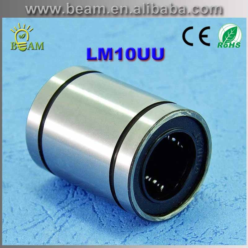 FREE SHIPPING 10pcs/lot Free shipping LM10UU Linear Bushing 10mm CNC Linear Bearings free shipping 10pcs mk74cb115r