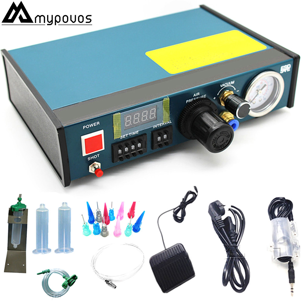 YDL 983A Professional Precise Digital Auto Glue Dispenser Solder Paste Liquid Controller Dropper 220V