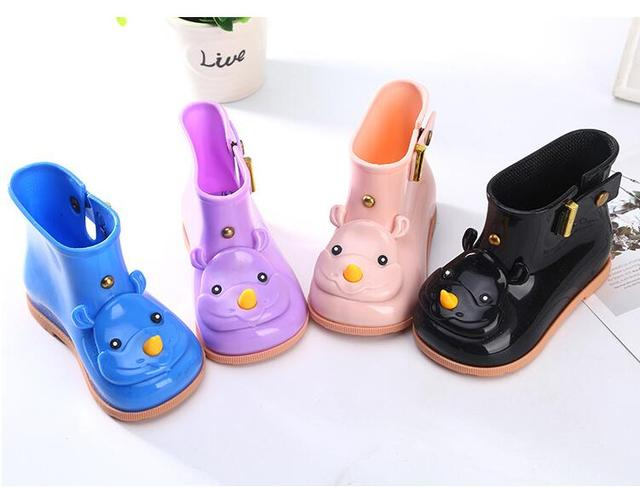 Çocuklar dört mevsim yağmur çizmeleri sıcak karikatür yağmur çizmeleri, moda yumuşak kauçuk ayakkabı erkek, kız su geçirmez ayakkabı, bebek ayakkabıları