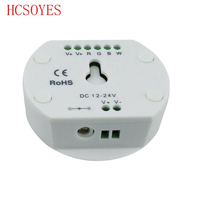 DC12-24V RGB RGBW UFO Bluetooth 16 Million Colors IOS Android LED Controller Timing Function Group Control Music Mode