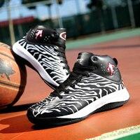 Новое поступление Аутентичные Дешевые Удобные Для Мужчин's Баскетбольные кеды на суд носимых амортизацию Спортивная обувь спортивная обув...