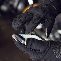 جديد 2017 ريفيت هيدرا H2O فريق لمس قفازات للماء قفازات للدراجات النارية سباق الطريق