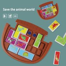 Toys For Children Dinosaur Animal Logic Game Educational Puzzle Games Tangram Develop Reasoning Skills Board