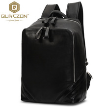 High Quality England Big Capacity Men Travel bags Genuine Leather Backpacks For College Preppy Style School Backpacks Mochila