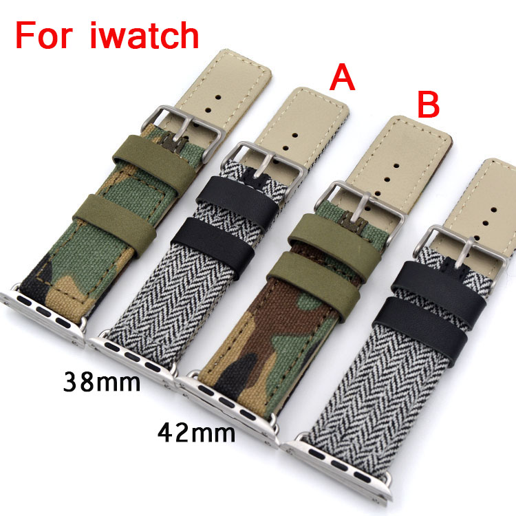Special design,Canvas sport Apple Watch Belt, Nylon 38MM 42MM Leather Watch Band, Suitable For Iwatch,Free Shiping daniele michetti daniele michetti брендовые туфли женские 83