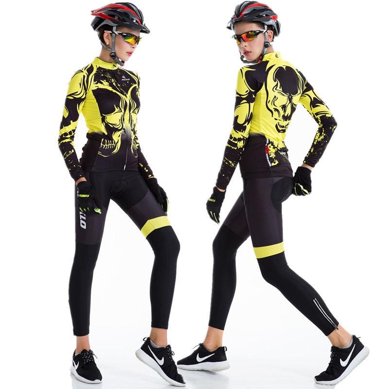 Cool été femmes cyclisme Jersey à manches longues cyclisme vêtements chine résistant aux UV vtt vélo de route descente Jersey respirant et Anti-sueur