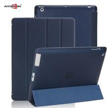Чехол для iPad 2 3 4, aiyopeen Ultra Slim искусственная кожа флип чехол мягкая Вернуться ТПУ магнитными Smart Case для iPad 2/3/4 a1430 A1460