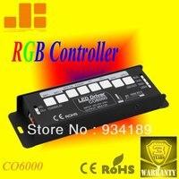 Frete Grátis RGB CONTROLER & LED DRIVER AUTO GERAÇÃO de SINAL de controle PWM de 3 Canais DC12-24V Modelo: CO6000