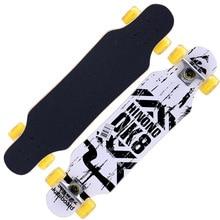 31 Adult Kids Mini Complete Longboard Skateboard Maple Wood Deck Skate Board Mini Street Dancing Longboard цена