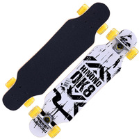 31 Adult Kids Mini Complete Longboard Skateboard Maple Wood Deck Skate Board Mini Street Dancing Longboard